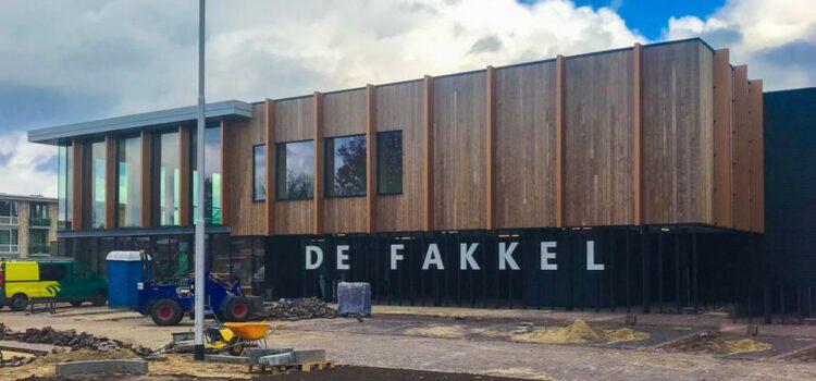 Nieuwe sporthal De Fakkel geopend